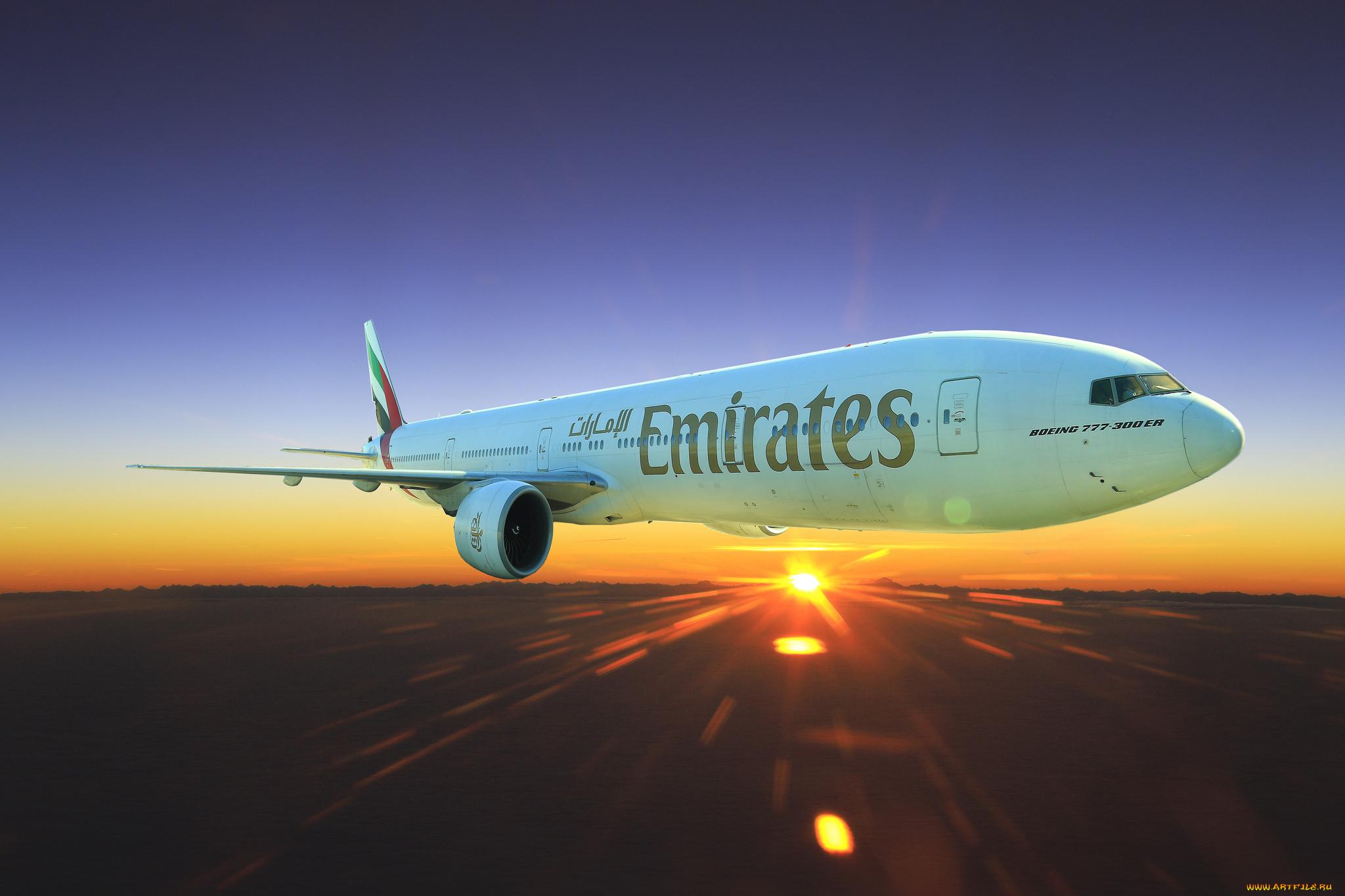 картинки самолеты эмирейтс простой шапочки